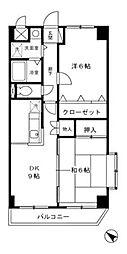 クレッセ[2階]の間取り
