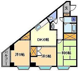 ストンパレス[2階]の間取り