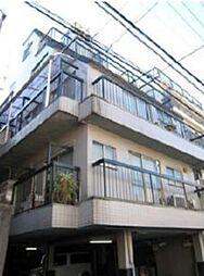 東京都新宿区愛住町の賃貸マンションの外観