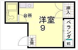 TO'STUDIO[301号室号室]の間取り