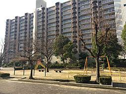 南港ガーデンハイツ24棟[4階]の外観