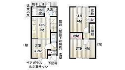 [一戸建] 兵庫県神戸市長田区海運町8丁目 の賃貸【/】の間取り
