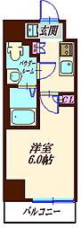 S−RESIDENCE妙蓮寺 3階1Kの間取り