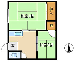 立花駅 2.2万円