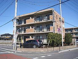 埼玉県久喜市伊坂の賃貸マンションの外観
