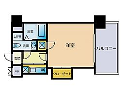 エステートモア博多グラン[1階]の間取り