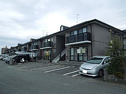 愛媛県松山市三町3丁目の賃貸アパートの外観