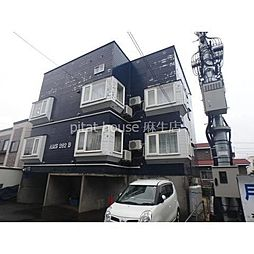 札幌市営南北線 北24条駅 徒歩12分の賃貸アパート