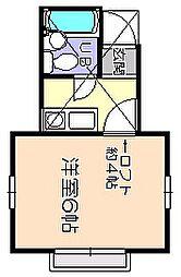 ドルフ62階Fの間取り画像
