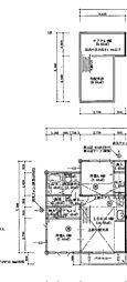 仮)石川4丁目アパート[201号室]の間取り