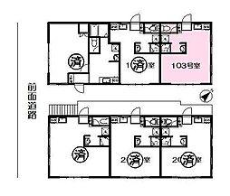 Rosy 神楽坂[0103号室]の間取り
