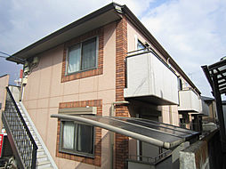 神奈川県小田原市城山1丁目の賃貸アパートの外観