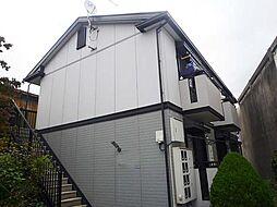 兵庫県川西市栄根2丁目の賃貸アパートの外観