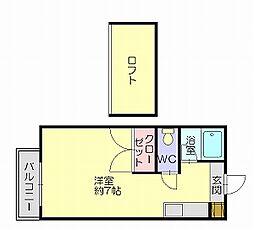 マキシム空港前3[1階]の間取り