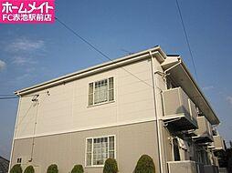 愛知県名古屋市天白区土原3丁目の賃貸アパートの外観