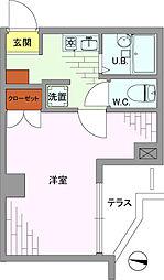 ステージファースト大塚[1階]の間取り