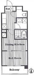 ラポール上板橋[3階]の間取り