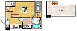 仮称)東九条石田町SKHコーポ[102号室号室]の間取り