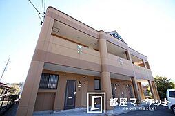 愛知県豊田市越戸町梅盛の賃貸アパートの外観