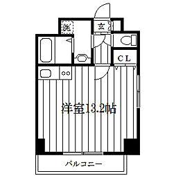 UFステージ伊勢佐木[8階]の間取り