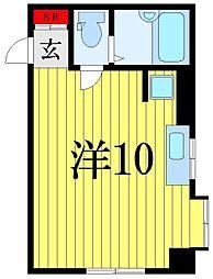 メゾンデューク菖蒲園[2階]の間取り