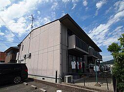 奈良県生駒郡平群町初香台1丁目の賃貸アパートの外観