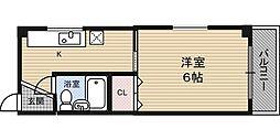 野田ハイツ[5階]の間取り