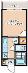 メゾンHARA[_101号室]の間取り