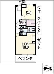 グラン・アベニュー名駅南[8階]の間取り