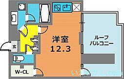 デルファーレ神戸三宮[6階]の間取り