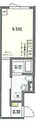 JR京浜東北・根岸線 鶯谷駅 徒歩6分の賃貸マンション 4階ワンルームの間取り