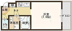 シュライテン白鷺[3階]の間取り