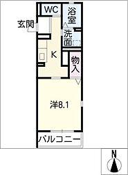 LePetal[1階]の間取り