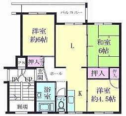 南長津田団地15号棟