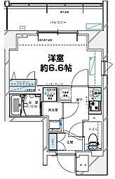 レジデンツア西神奈川[401号室]の間取り