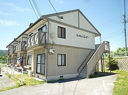長野県茅野市ちの横内の賃貸アパートの外観