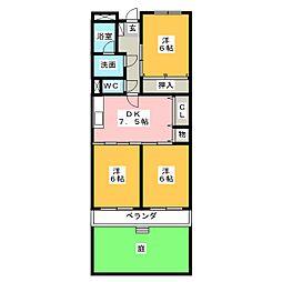 Limpia23[1階]の間取り