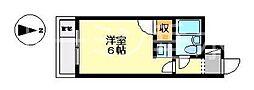 兵庫県神戸市垂水区西舞子2丁目の賃貸マンションの間取り