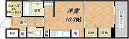 KDX堺筋本町レジデンス[4階]の間取り