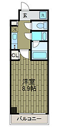 新百合グリーンビル[7階]の間取り