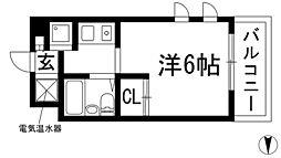 FKマンション[2階]の間取り