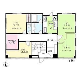 東五反田3丁目マンション[1階]の間取り