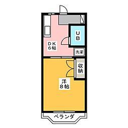 コート・ラ・セーヌ[3階]の間取り