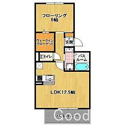 エマ 箱崎[2階]の間取り