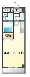 サンハイツ池田II[1階]の間取り