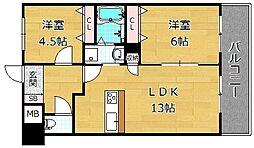 Puraria津田[2階]の間取り