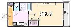 桜ケ丘晴楽館[1510号室]の間取り