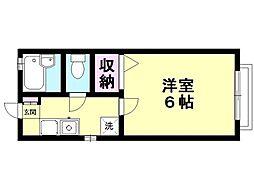 アイ三田[202号室号室]の間取り