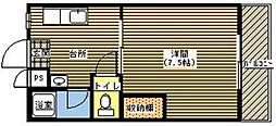 ジョイフル21[101号室]の間取り