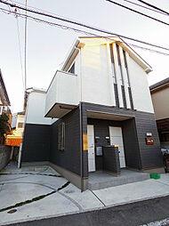 東京都東村山市青葉町1丁目の賃貸アパートの外観